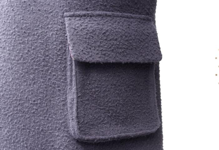 カセンティーノオーダーメイドコート|腰ポケット