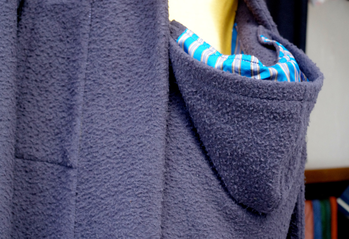 オーダーメイドコート|マタニティフード付き