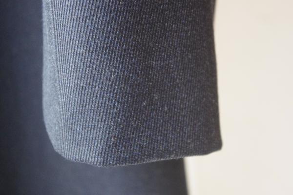オーダーステンカラーコート|筒袖