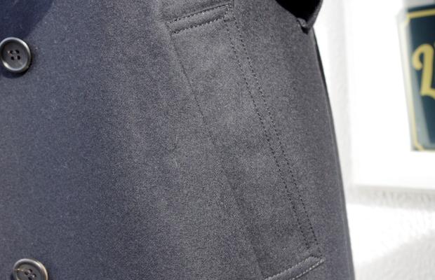トレンチコートオーダー|腰ポケット