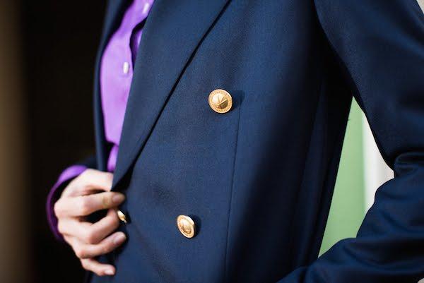 レディースオーダースーツ|ネイビーブレザー