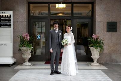 山の上ホテル|結婚式のウェディングスーツ