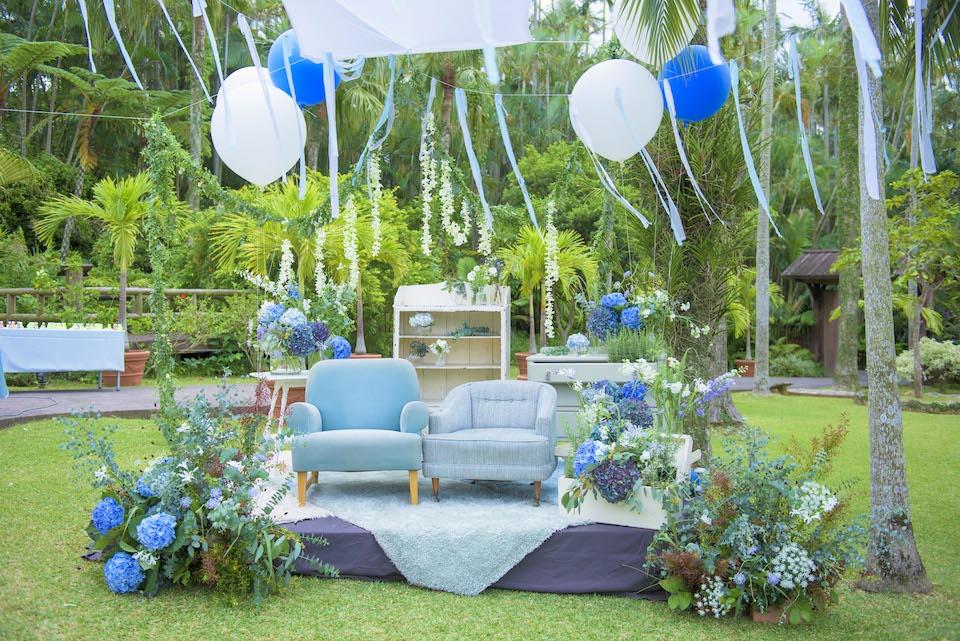 沖縄東南植物園|結婚式のウェディングスーツ