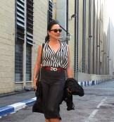 black striped shirt1