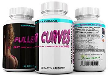 FULLER CURVES Female Butt and Bust Enlargement Pills