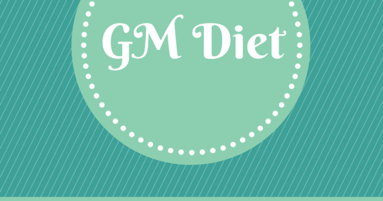 Indian Vegetarian GM Diet : Why Am I Trying It?