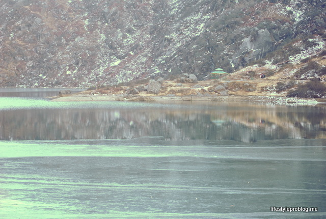 A Deep Frozen Lake in Sikkim