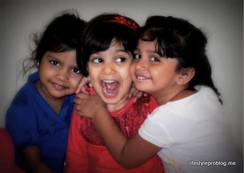 Three Friends Kids