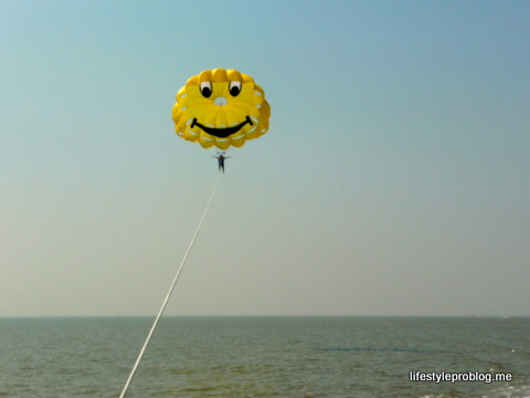 Far – #NaBloPoMo May 12 – #ParaSailing