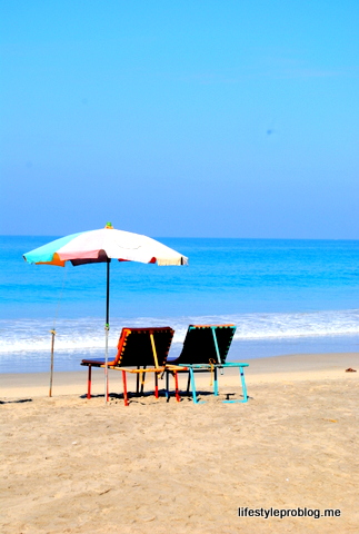 Pair Beach Chairs