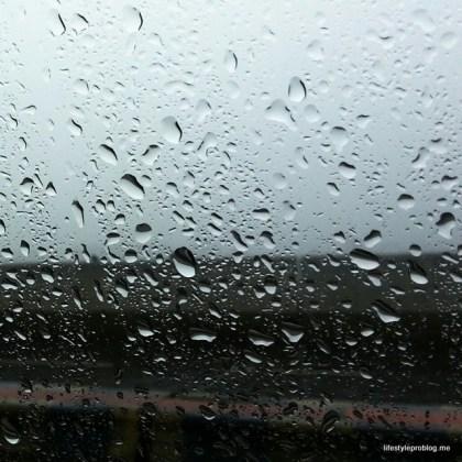 Raindrops of Glass