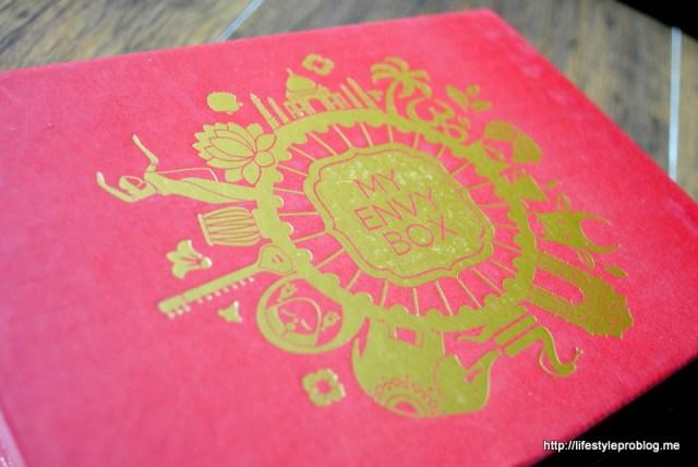 My Envy Box August Packaging