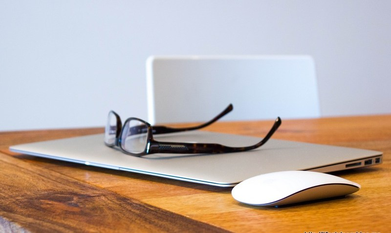 laptop and Glasses