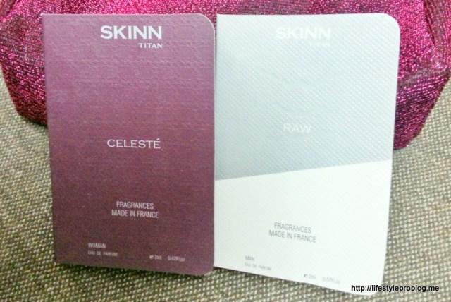 Skinn Perfume Fab Bag September