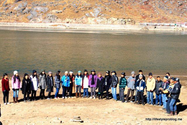 Tsomgo Lake Gathering