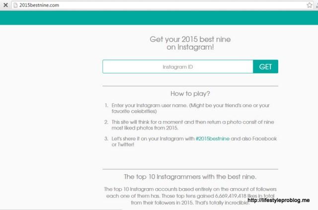 #2015BestNine Screen Capture