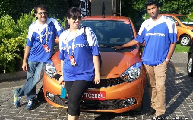 Tata Motors Tiago Pre Launch was #Fantastico