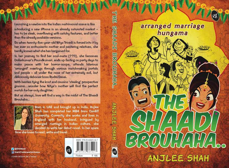 The Shaadi Brouhaha.. : Arranged Marriage Hungama by Anjlee Shah #BookReview