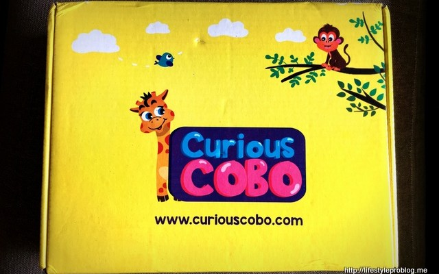 Curious Cobo – An Activity Box for Kids