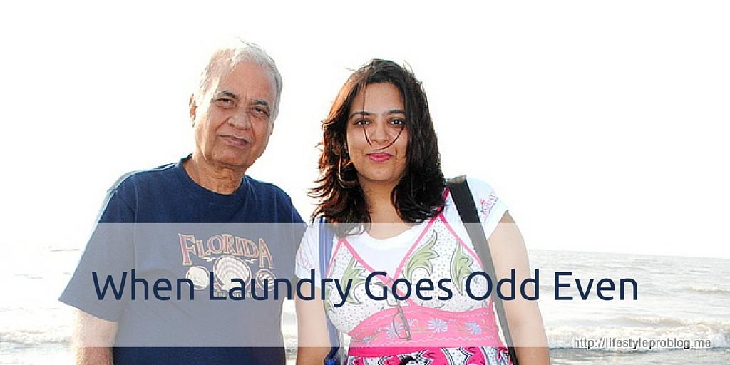 When #LaundryGoesOddEven