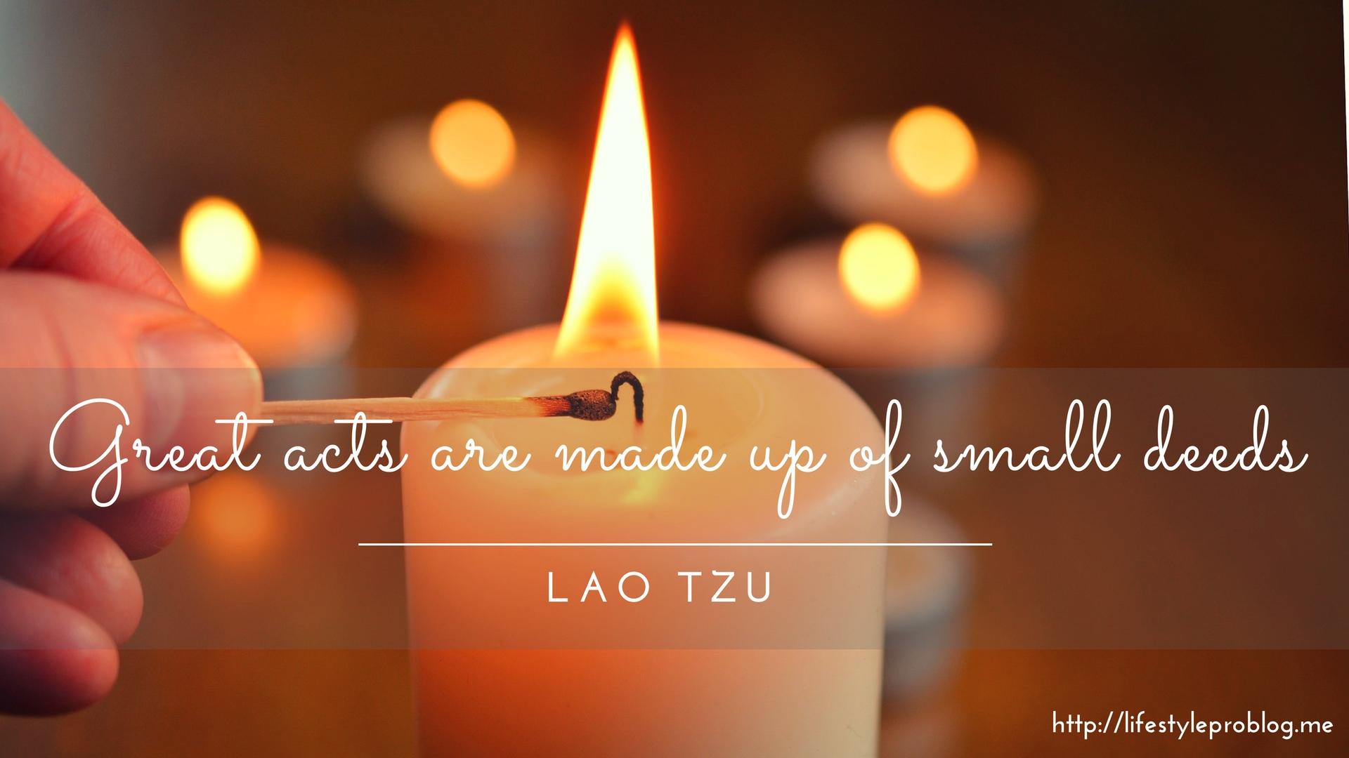 #AtoZChallenge : Lao Tzu Quote