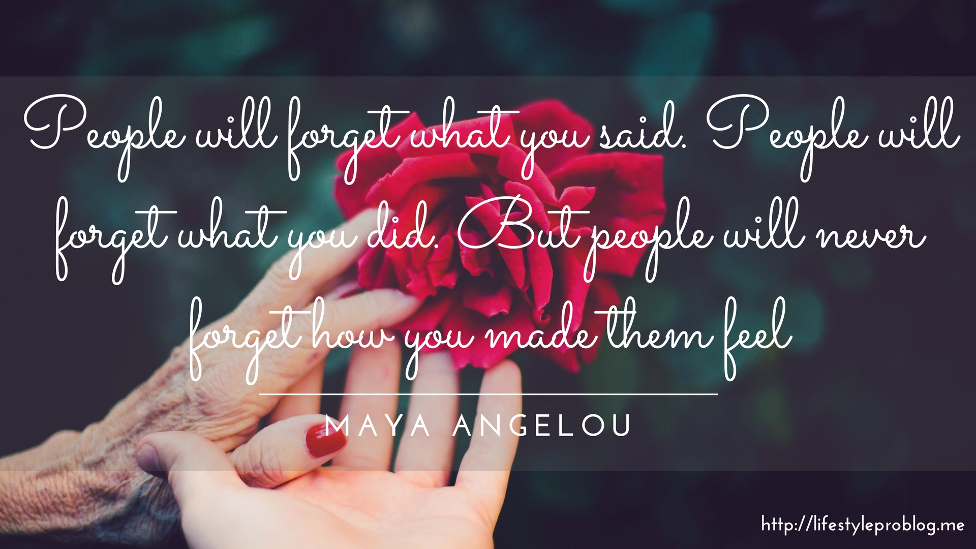 #AtoZChallenge : Maya Angelou Quote