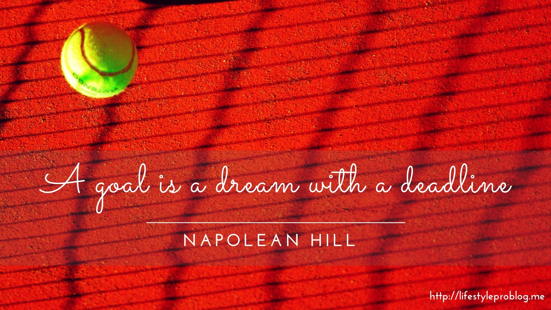 #AtoZChallenge : Napolean Hill Quote