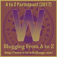 A to Z Challenge W