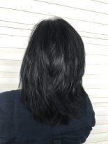 Blue Black Hair with BBlunt Salon Secrets High Shine Creme Hair Colour