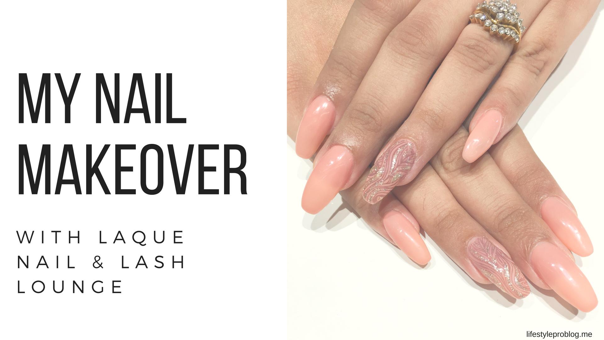 Laque Nail & Lash Lounge header