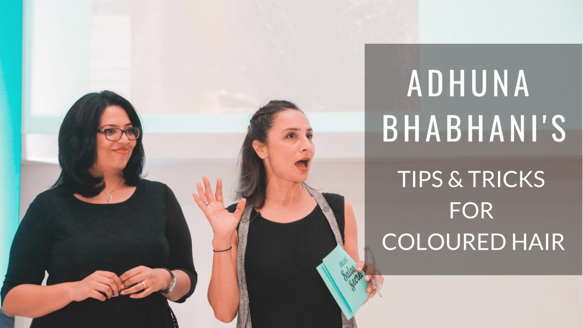 Tips and Tricks for Coloured Hair - blog header