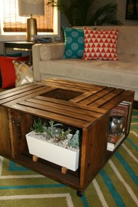 DIY Wooden Wine Crate Coffee Table  Lee's Summit ...