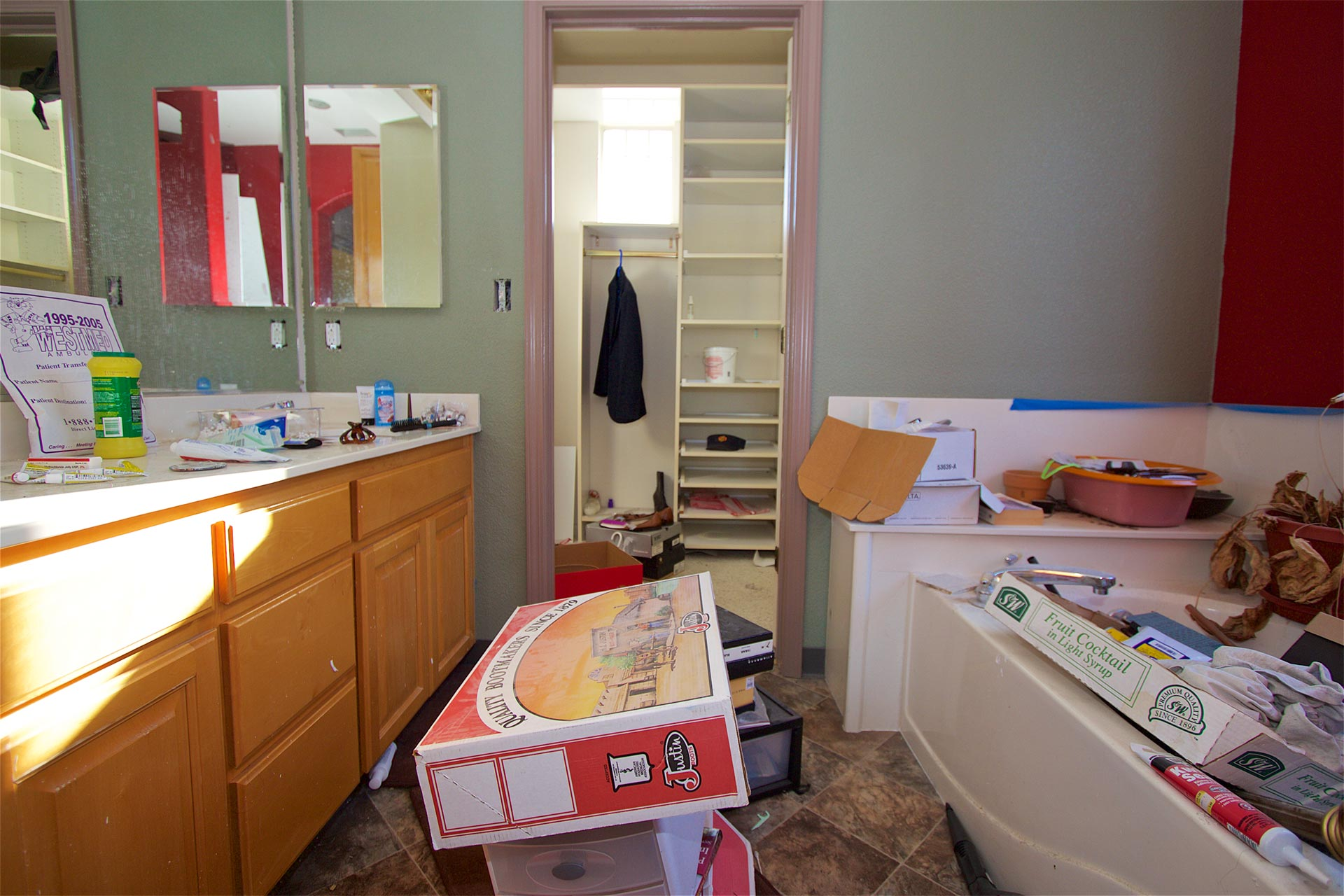 Before-Master Bathroom