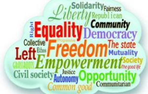 equality, freedom, empowerment