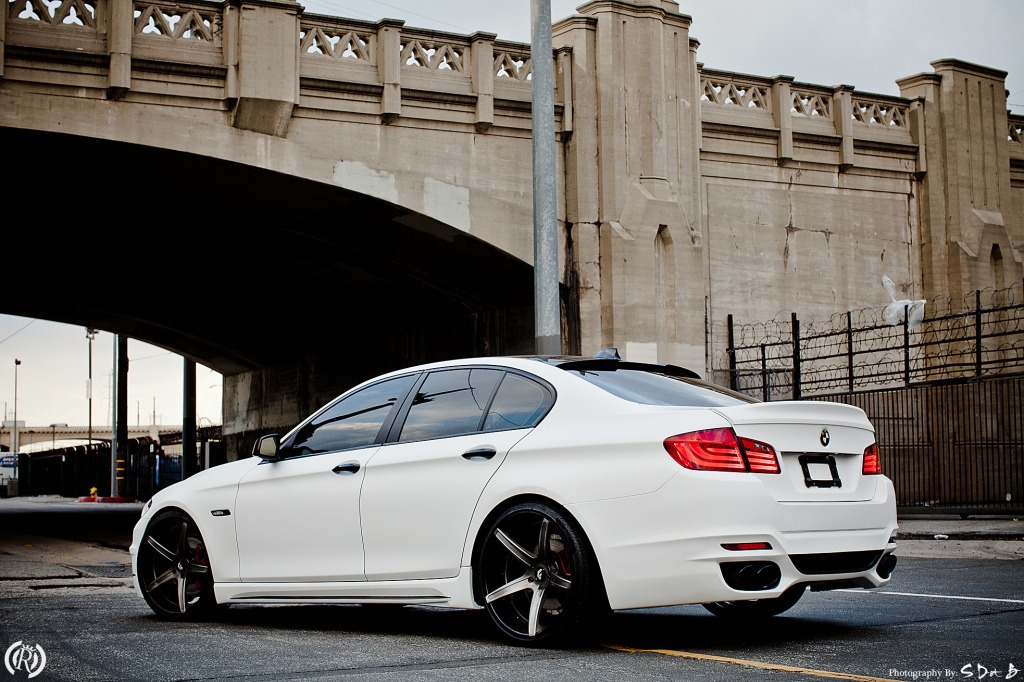 2012 BMW F10 535i Project by Royal Muffler   LifeStyles Defined