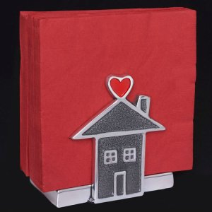 Inspired Generations Home is Where the Heart Is Napkin Holder