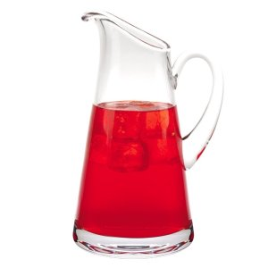 Badash Crystal Hampton European Mouth Blown Lead Free Crystal Pitcher 54oz - K2050