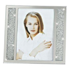 Badash Crystal Lucerne Crystalized Picture Frame 8x10 inch - SU385