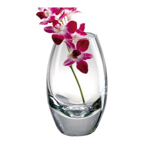 Badash Crystal Radiant European Mouth Blown Crystal 10 inch Vase - K2251