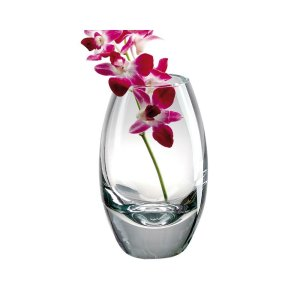 Badash Crystal Radiant European Mouth Blown Crystal 9 inch Vase - The Bomb - K2091