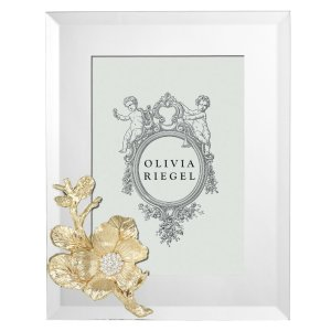 Olivia Riegel Gold Botanica 5 x 7 inch Frame - RT0215