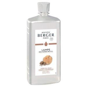 Virginia Cedarwood Lampe Maison Berger Fragrance 1 Liter - 416021