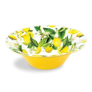 Michel Design Works Lemon Basil Bowl Large SWBL8
