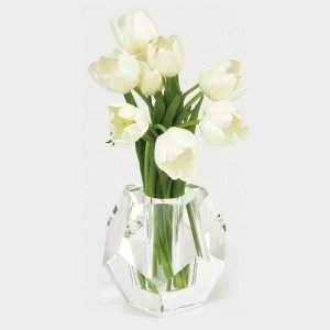 Tizo Design Crystal Glass Diamond Vase PH404VAS
