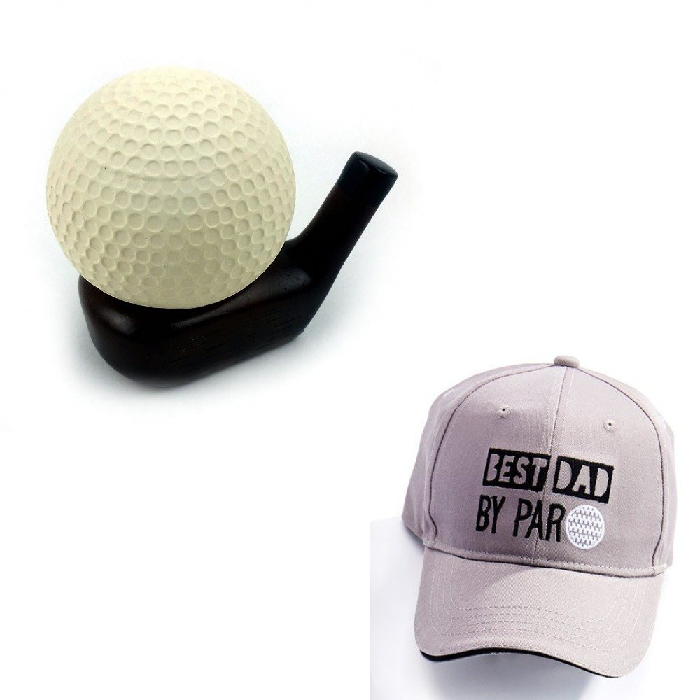 Golf Stress Ball Best Dad By Par Cap