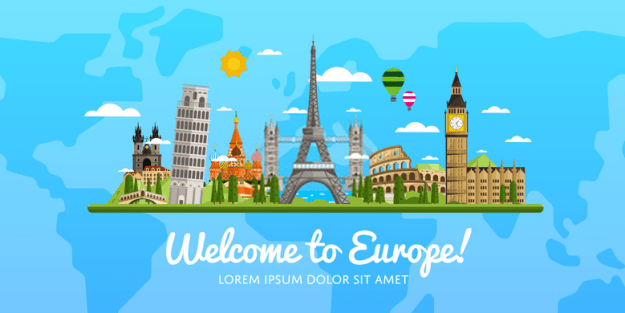 budget trip to europe from india