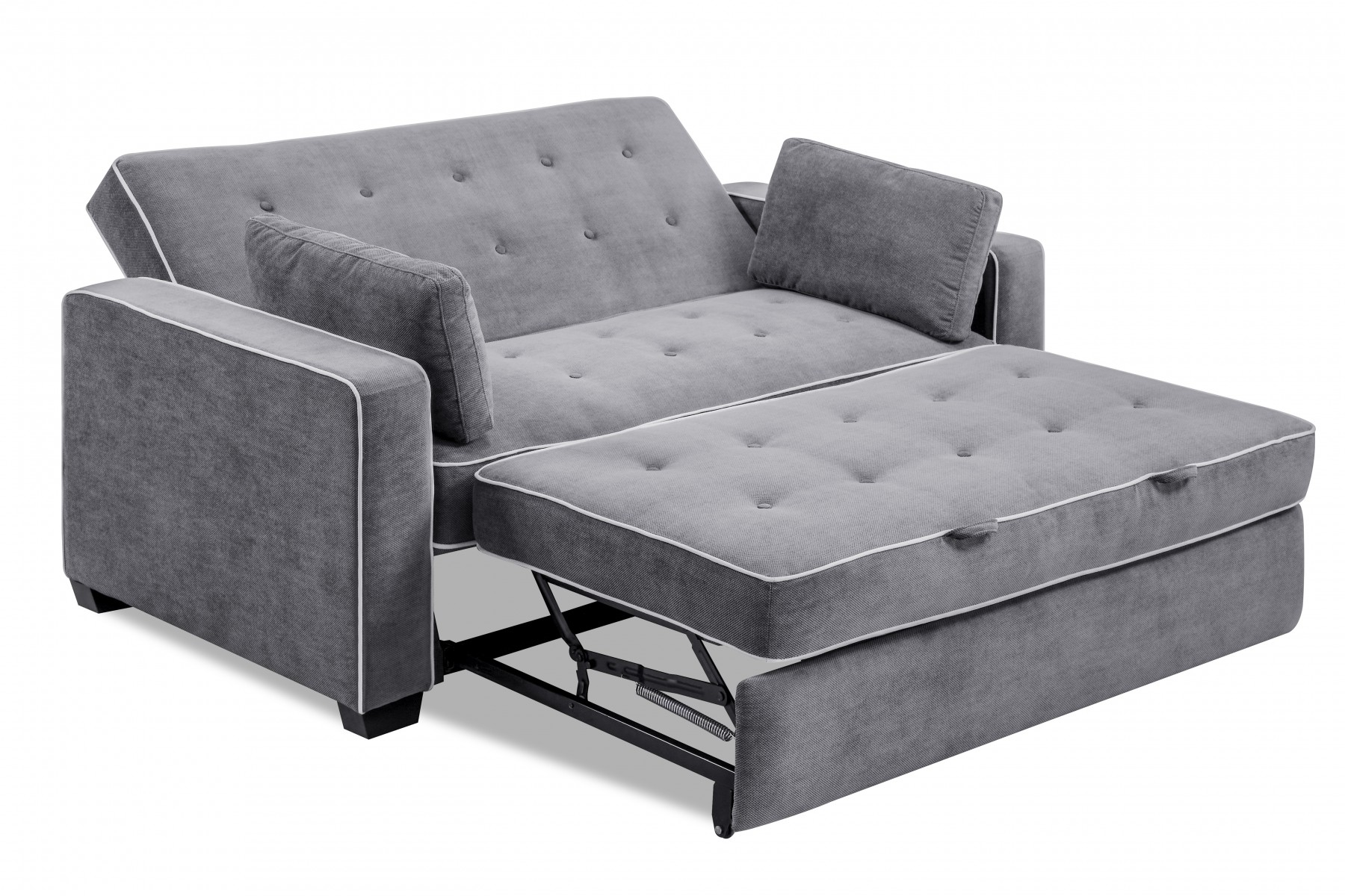grey leather queen sleeper sofa brown 2 seater gumtree augustine (queen) - lifestyle solutions