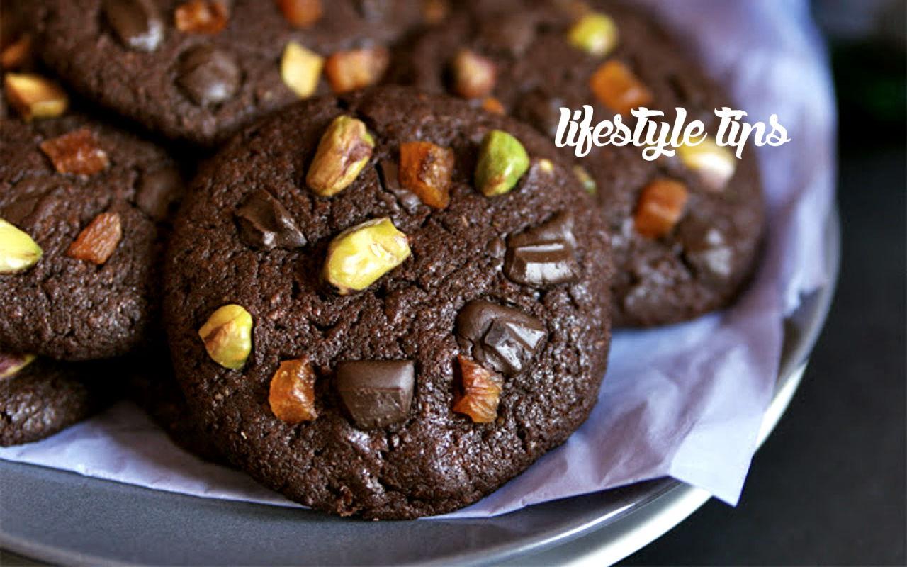 फ्रूट चॉकलेट कूकीज़