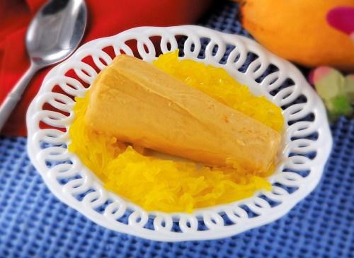 मैंगो कुल्फ़ी आम कुल्फ़ी Mango Kulfi Recipe