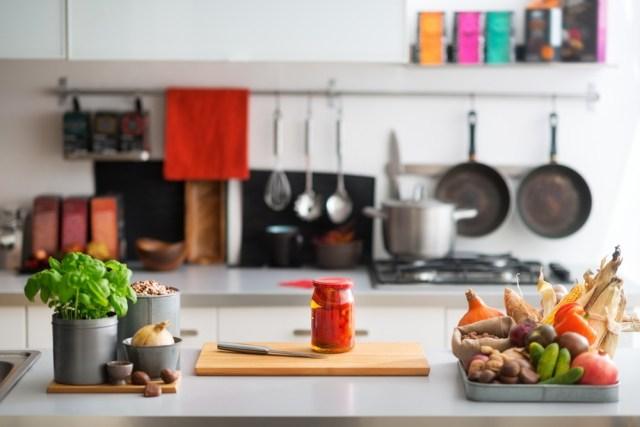 सुव्यवस्थित रसोईघर